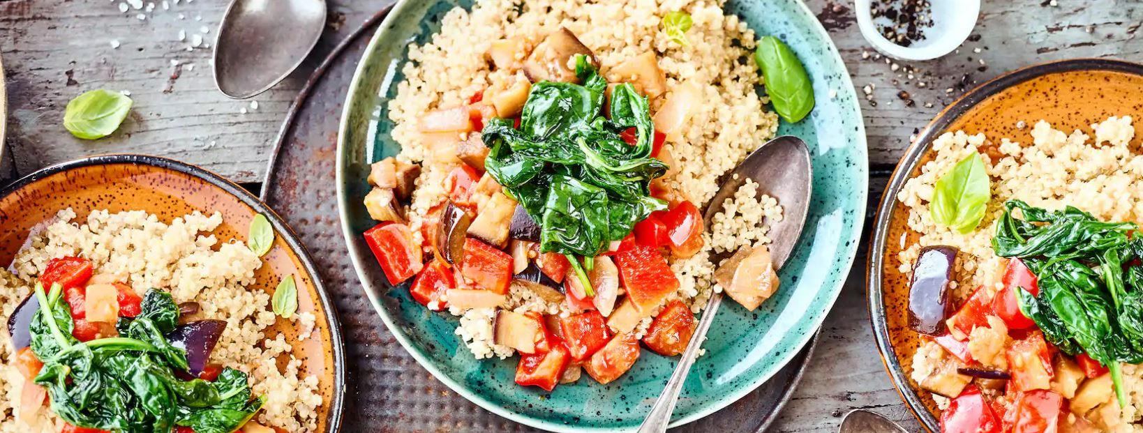 Quinoa-Ratatouille-Rezept